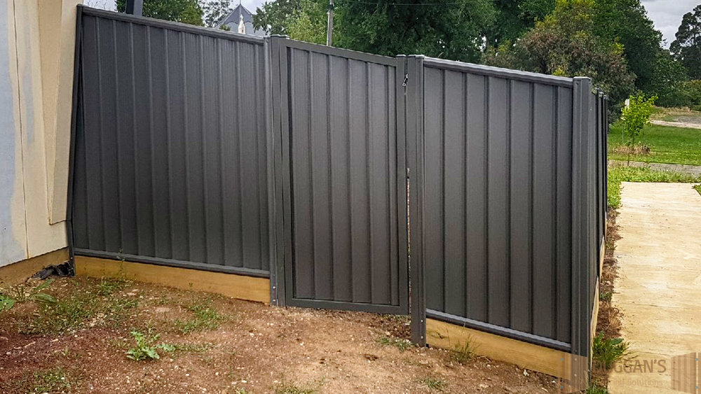 Colorbond Steel Gate