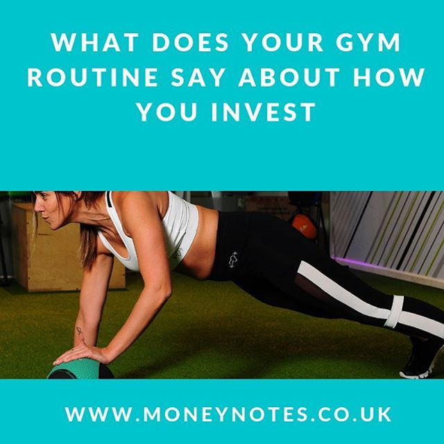 This time last year I joined a nice gym. My rationale for spending a little bit more cash was to do anything that would help me achieve my goal of improving my productivity, health and fitness…but what does this have to do with #finance and #Investing?  We explore what your #gym #routine says about how you #Invest in this week's blog link in bio @moneynotesofficial  #pension #financialstability #workout #routine #financialeducation