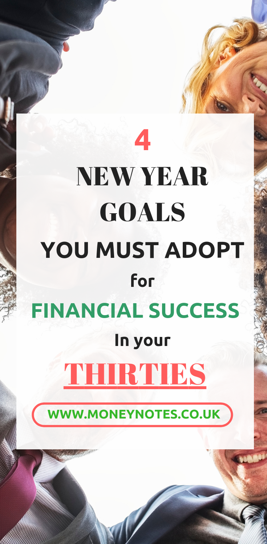 Financial Goals - Thirties