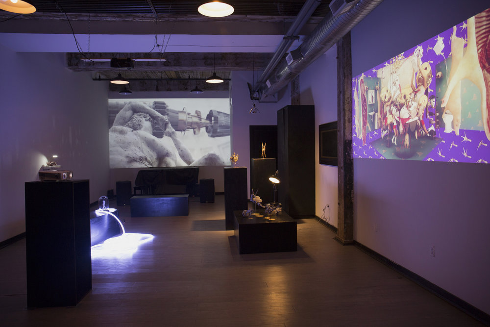 Dyspepsia Exhibition View, Photograph by Frank Yefeng Wang