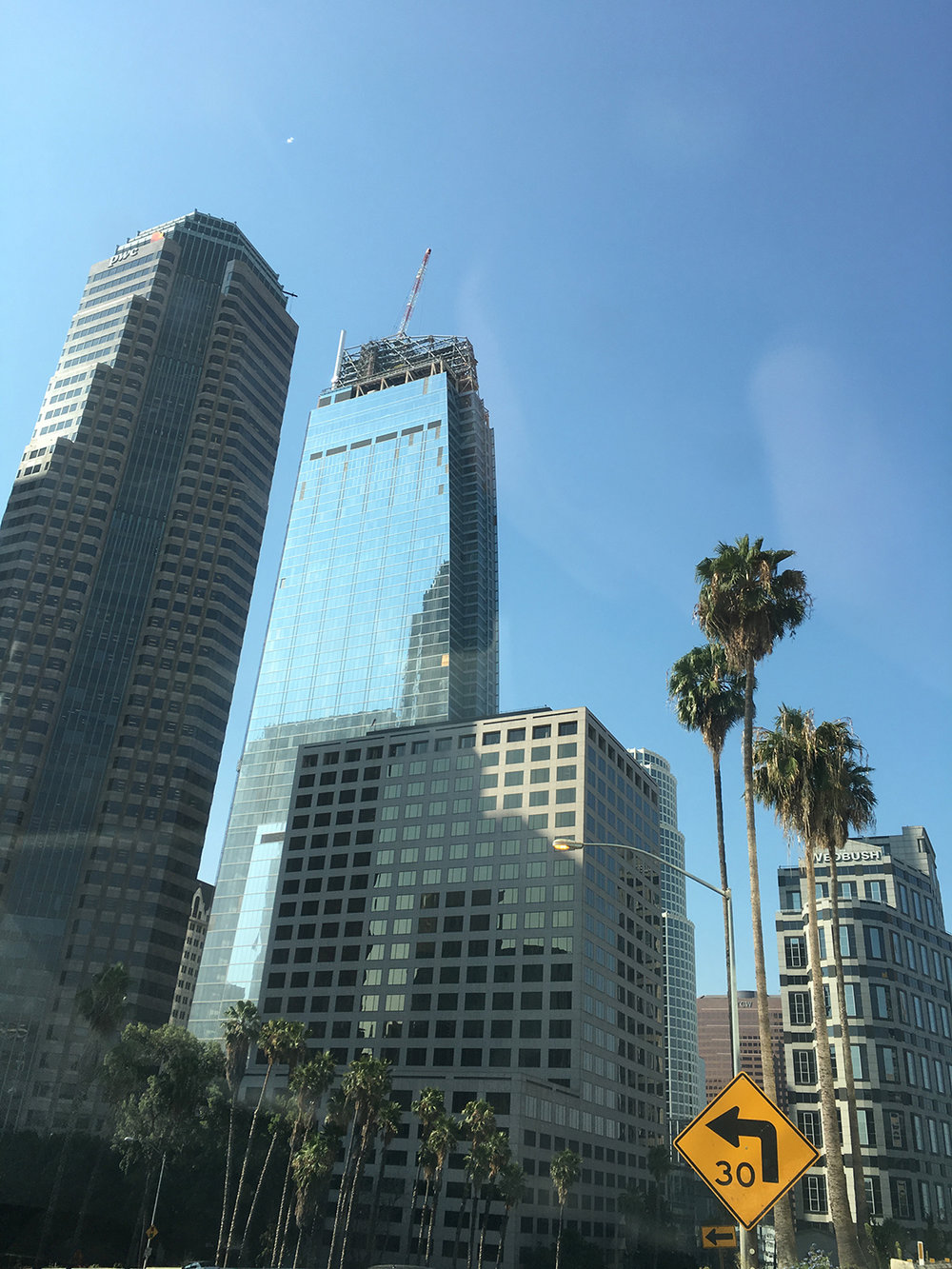 Wilshire Grand Center, Los Angeles, CA.