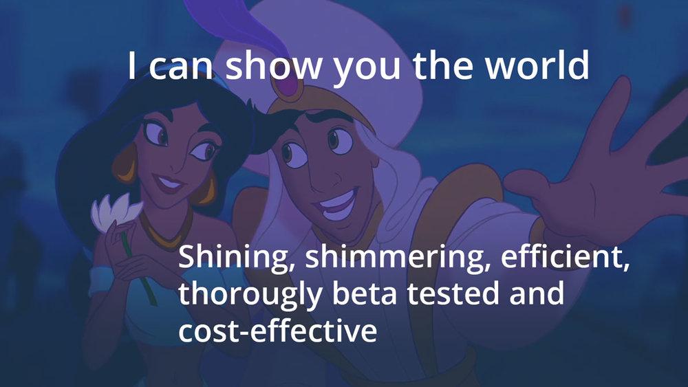 Aladdin © Disney