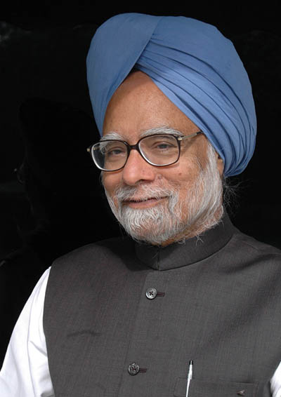 India's current Prime Minister, Manmohan Singh