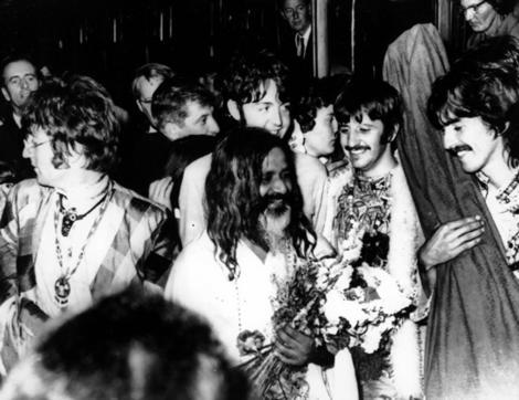 The Beatles With Maharishi Mahesh Yogi