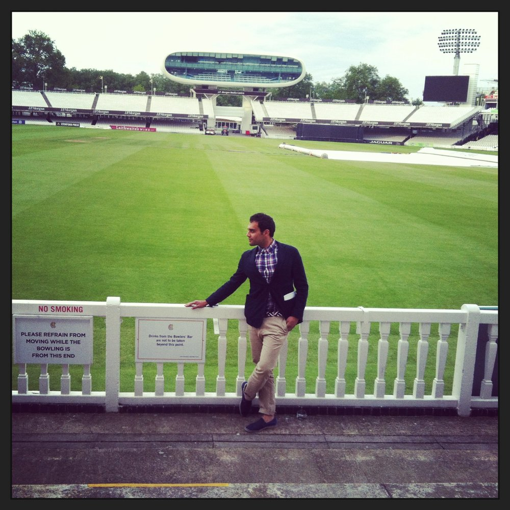 Being Dapper at Lord's Cricket Ground