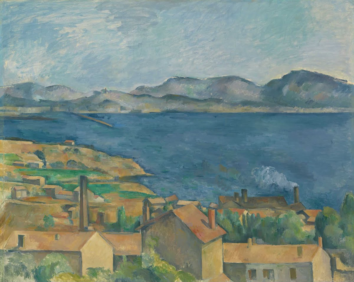 The Bay of Marseille, Cezanne