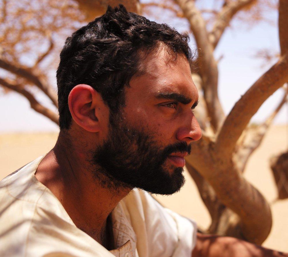 Ash Bhardwaj in the Bayuda Desert