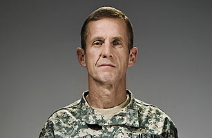 Gen. Stanley McChrystal, when photographed for Time magazine