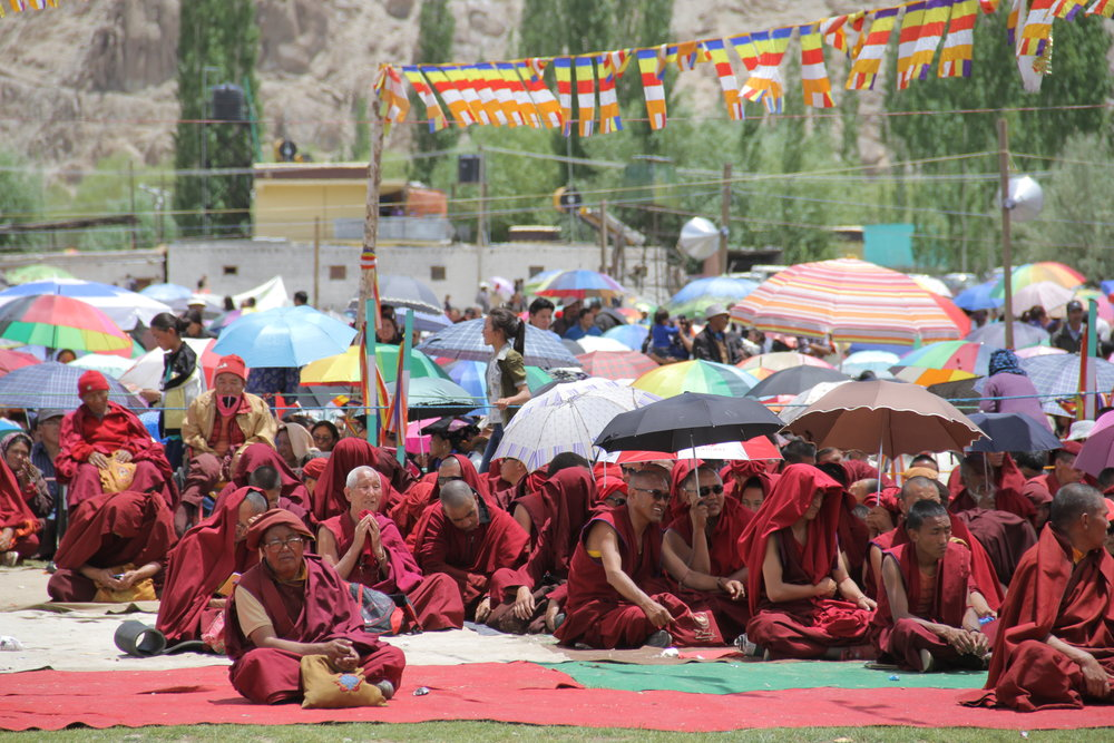 Ladakhi Buddhist Monks