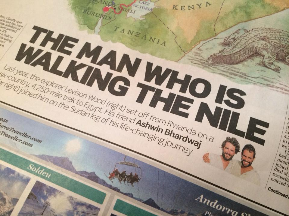My first cover article for the Telegraph. But you can always write better.