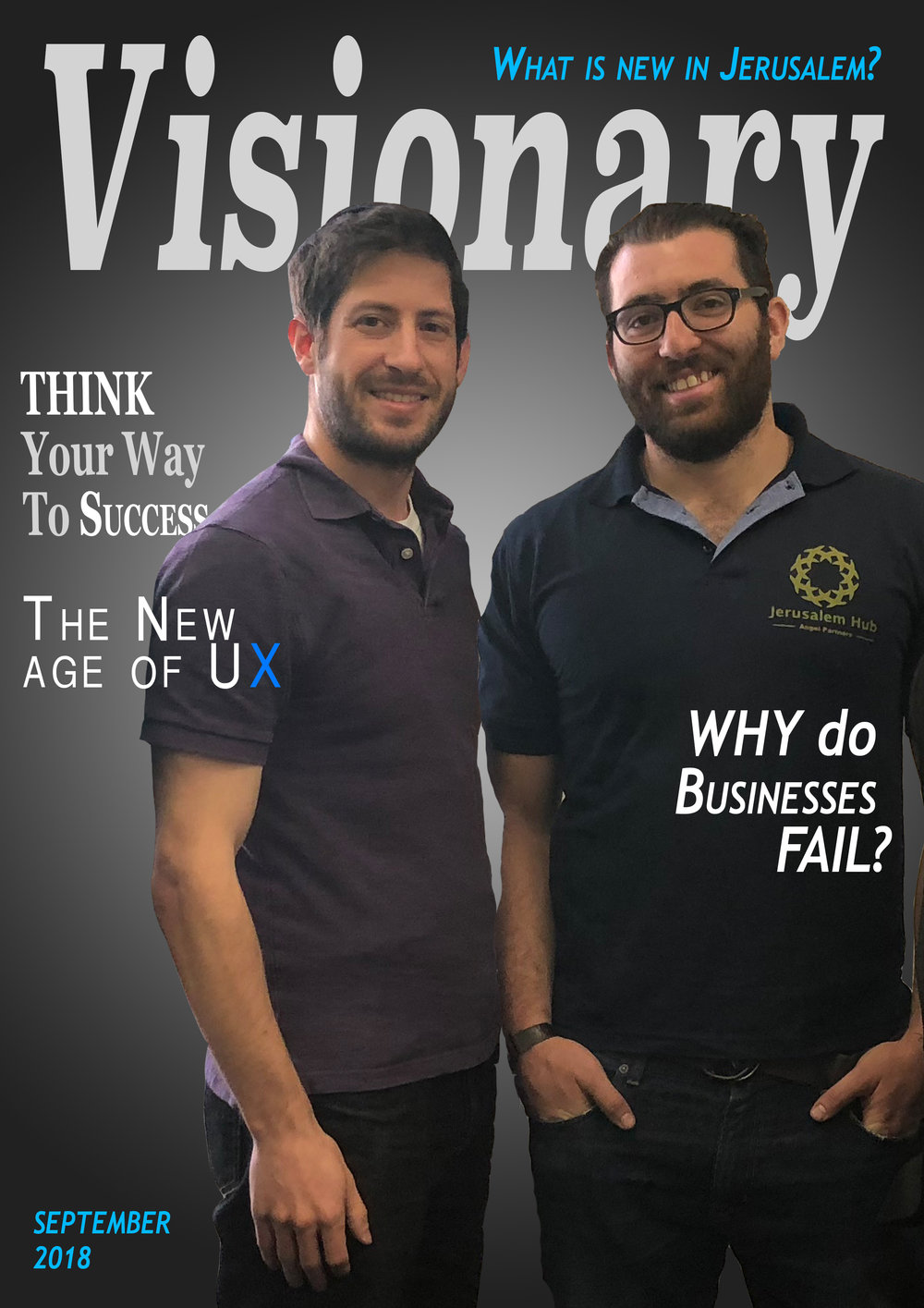 Visionary Magazine - Coming soon!Our newest publication. Visionary Magazine.
