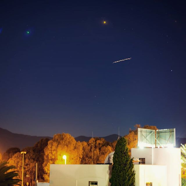 #ISS #internationalspacestation #longexposure #spain #canon #5Diii #f1.8 #VSCO #estepona #holiday