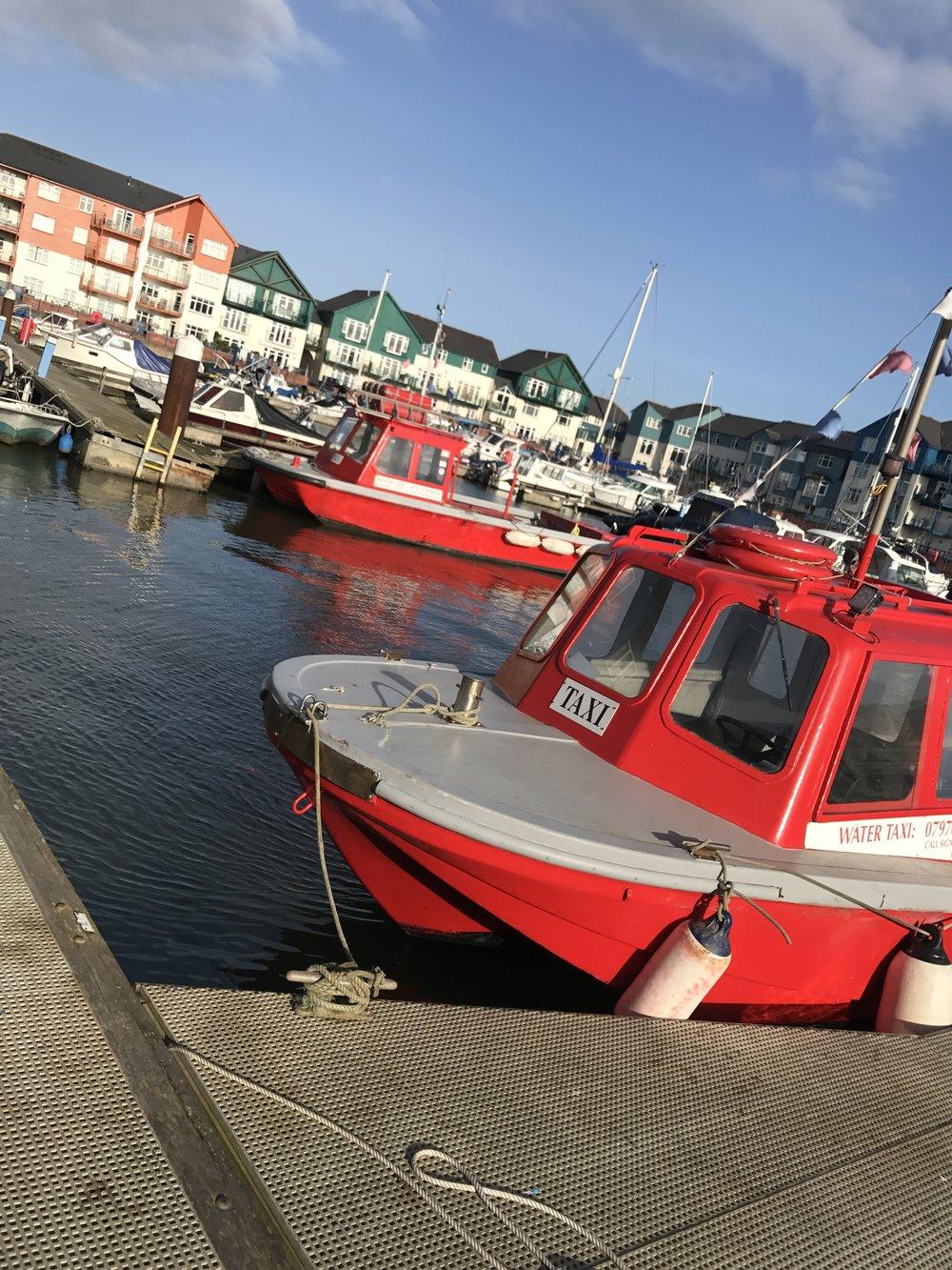 Exmouth Water taxi marina dawlish warren exe river