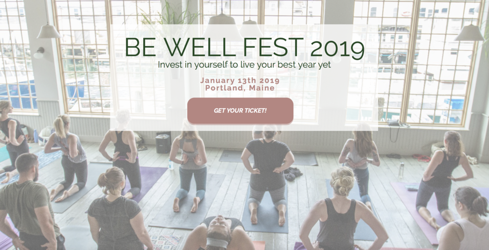 Be Well Fest 2019