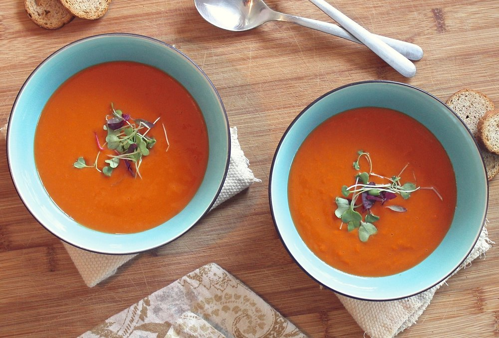 Red Pepper Curry Soup