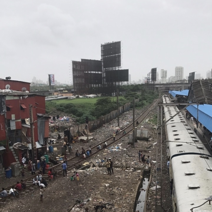 bandra train station in mumbai