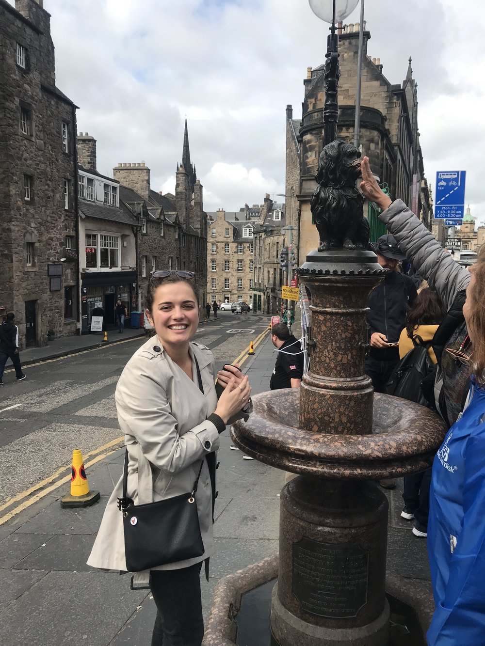 I made sure to visit greyfriars bobby for my dose of good luck!