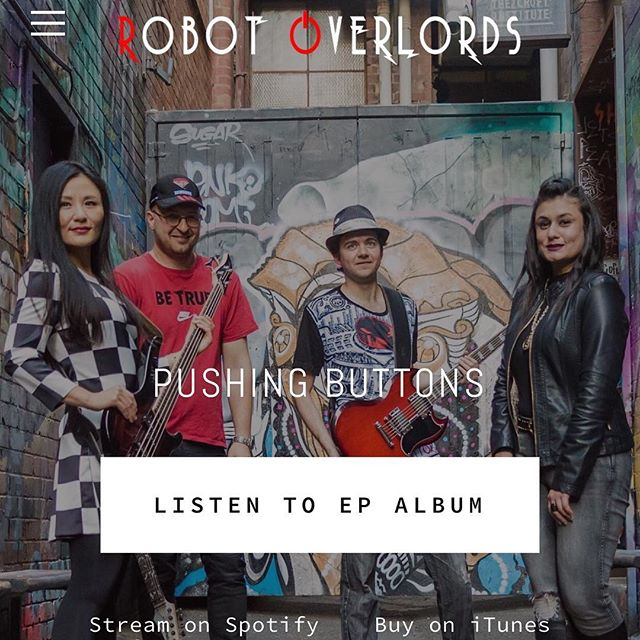 Welcome to the new year! Check out our new website for 2018 specials! #robotoverlords #band #electronicrockband https://robotoverlords.band . . . #rock #rocks #rocknroll #punkrock #rockstar #rockstargames #rockandroll #hardrock #rockabilly #rockclimbing #Rocky #rockband #rockmusic #rocker #indierock #rocket #rockymountains #therock #asaprocky #classicrock #alternativerock #rockon #rockies #poprock #rockhound #jrock #Supertags