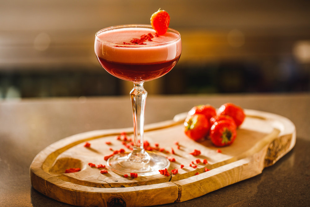 Strawberries and cream - vodka house infusion and strawberries and cream tea 4.jpg