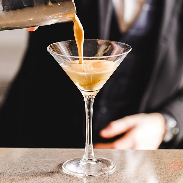 The smoothest Expresso Martini on the block 🍸
