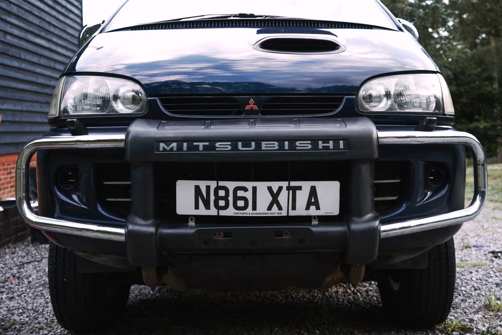 With new Mitsubishi decal!