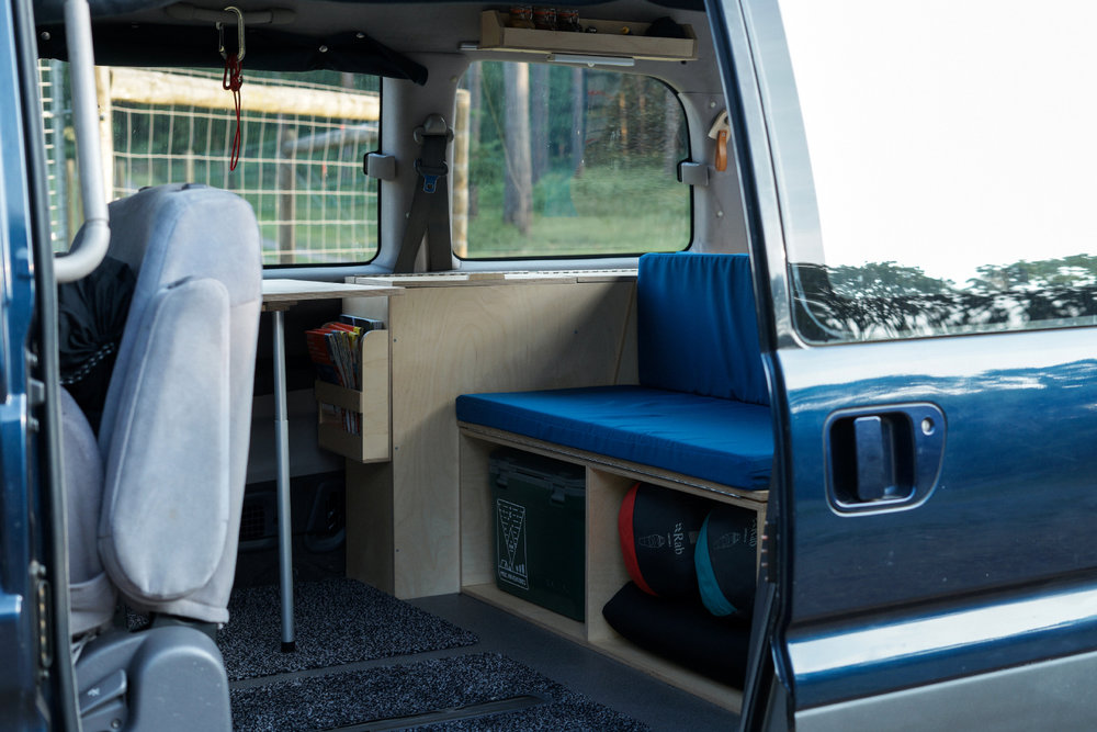 Camper unit inside