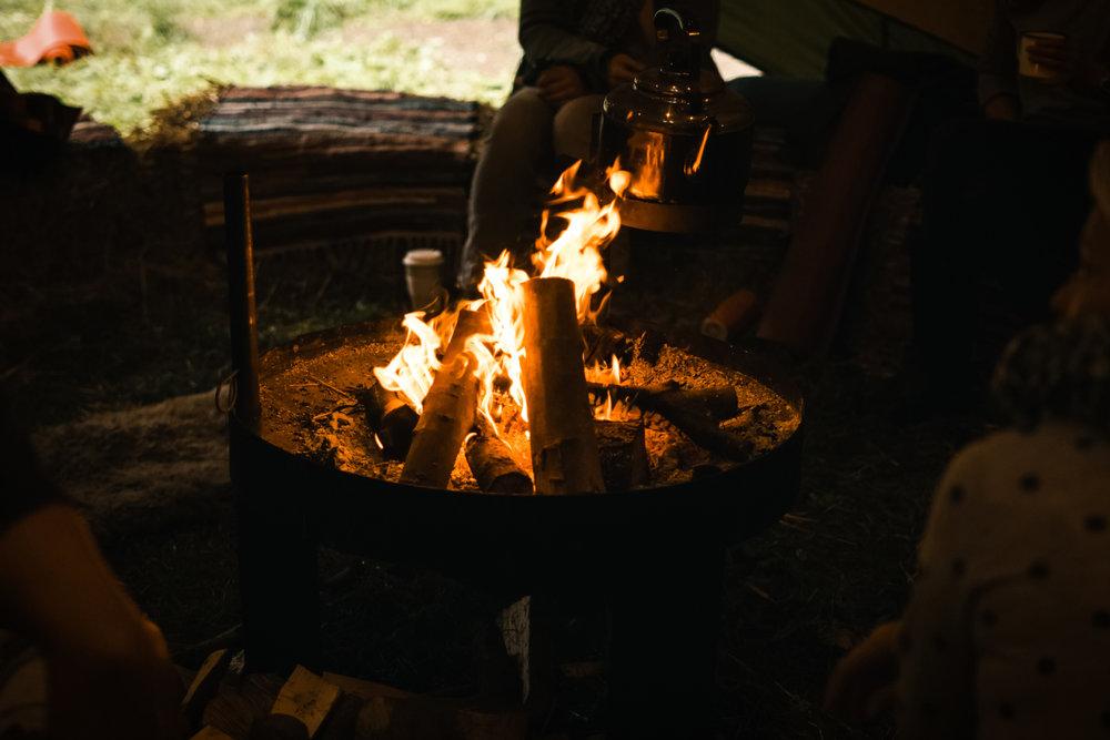 More campfires…