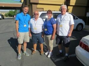 Jake, Dick, Bert and Carl