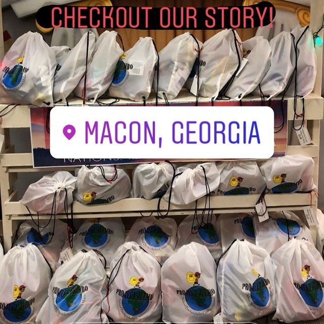 Thank you First Pres. Macon for providing 85 Project Juembo bags! #projectjuembo