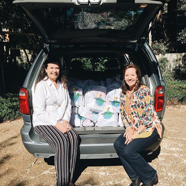 Big thank you to Mrs. Winter Steakly, who collected 100 bags from Redeemer, Presbyterian Church in Evans, Georgia!