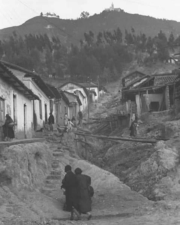 Monserrate en Bogotá- Colombia, 1934 🇨🇴
