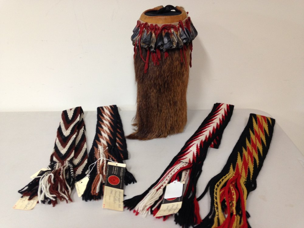 Woven Belts and Jingle Boot