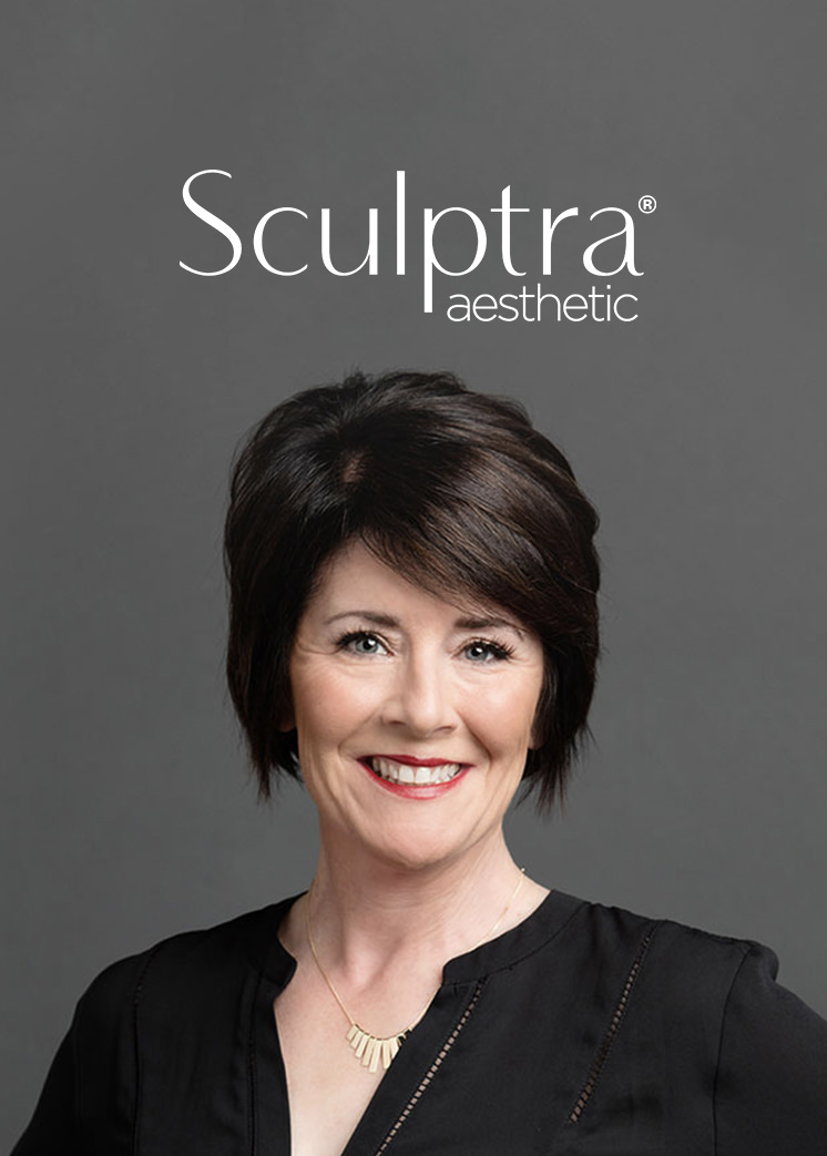 Sculptra Aesthetic - This injectable Poly-L-lactic acid helps stimulate your skin's own natural collagen production to help restore its inner structure and increase facial volume that has been lost to aging.