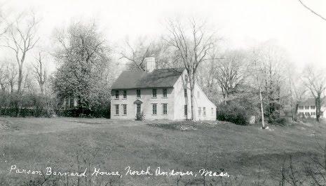 Parson Barnard House, Circa xxxx