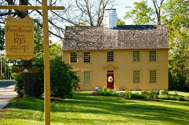 Parson Barnard House as it looks now.