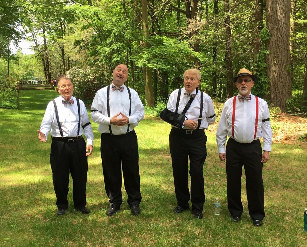 Entertainment...Barbershop Quartet?