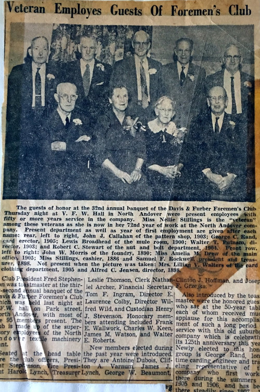 Newspaper clipping 50 year club 2.jpg