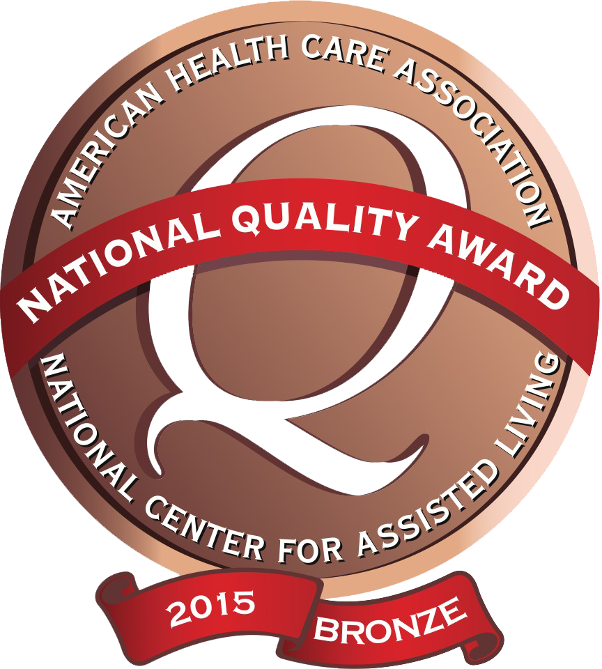 Meadowood Nursing Center - has been recognized as a 2015 recipient of the Bronze - Commitment to Quality Award for its dedication to improving the lives of residents through quality care. The award is the first of three distinctions possible through the National Quality Award Program, presented by the American Health Care Association and National Center for Assisted Living (AHCA/NCAL). The program honors centers across the nation that have demonstrated their commitment to improving quality care for seniors and individuals with disabilities.Download Full Press Release