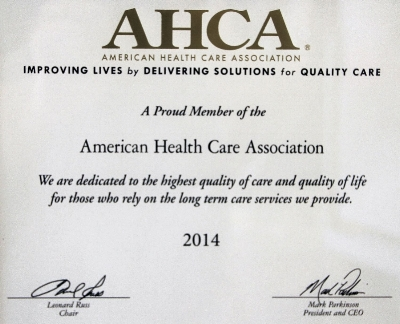 Meadowood Nursing Center Member of the American Health Care Association