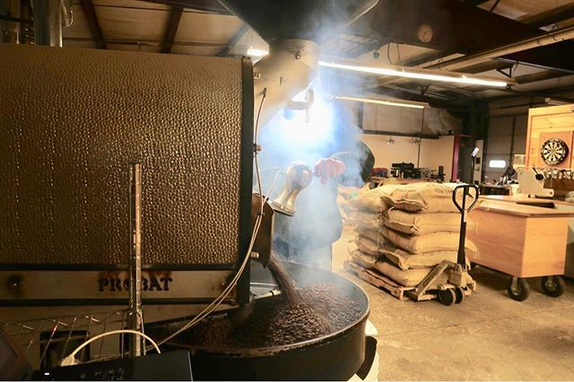 Fridays are for the apprentice roasters. Just don't burn the building down🤞