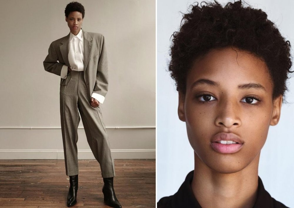 15 JANAYE FURMAN - the first black model to open for Louis Vuitton