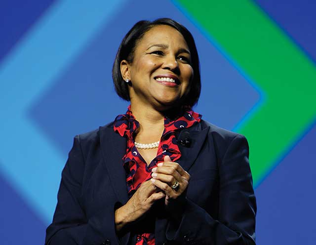 8 ROSALIND BREWER  - former CEO of Sam's club became COO of Starbucks