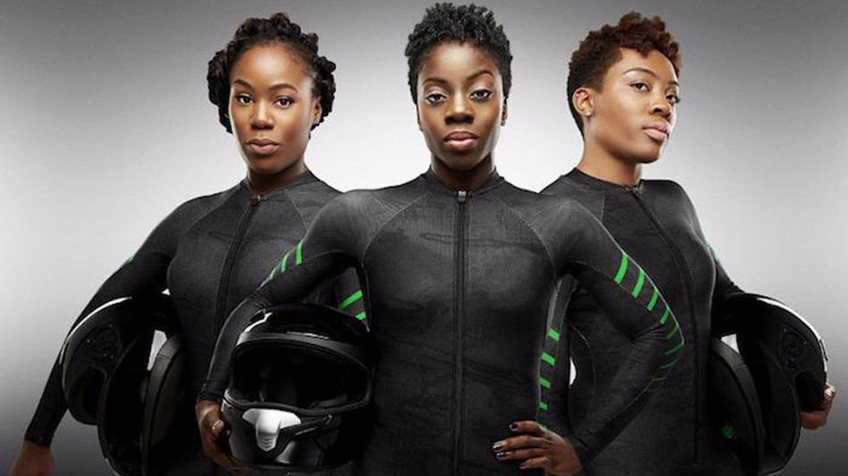 4 THE NIGERIAN BOBSLED TEAM - is first African team ever to qualify for winter Olympics!