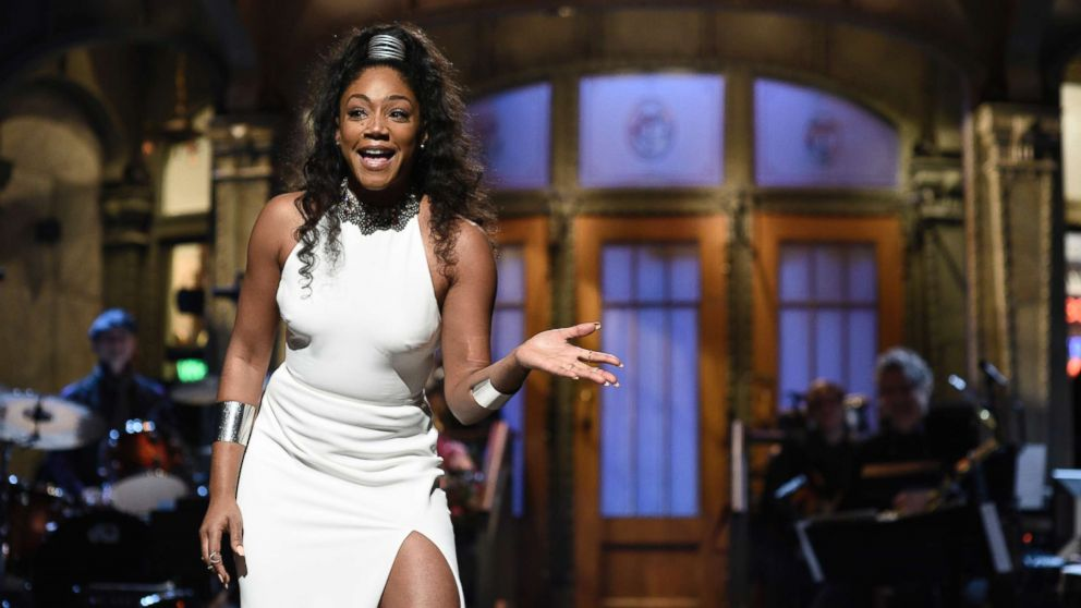 28 TIFFANY HADDISH - won over everybody's hearts with laughter in Girl's Trip and was the first black female comedian to host SNL.