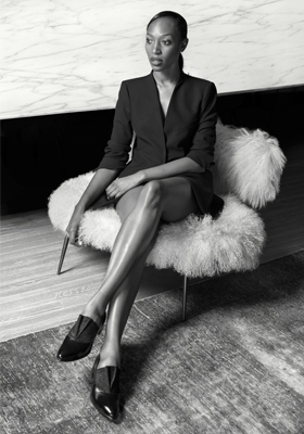 9 VANESSA KINGORI - the first female publisher for British GQ and now she is the first black publisher of British Vogue!