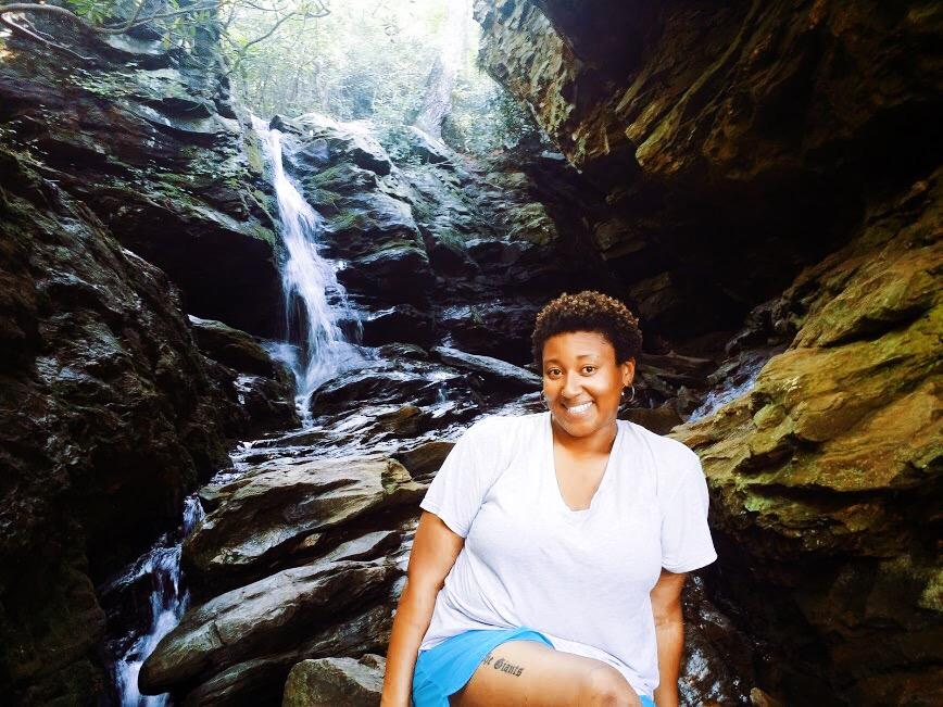 Window Falls at Hanging Rock State Park