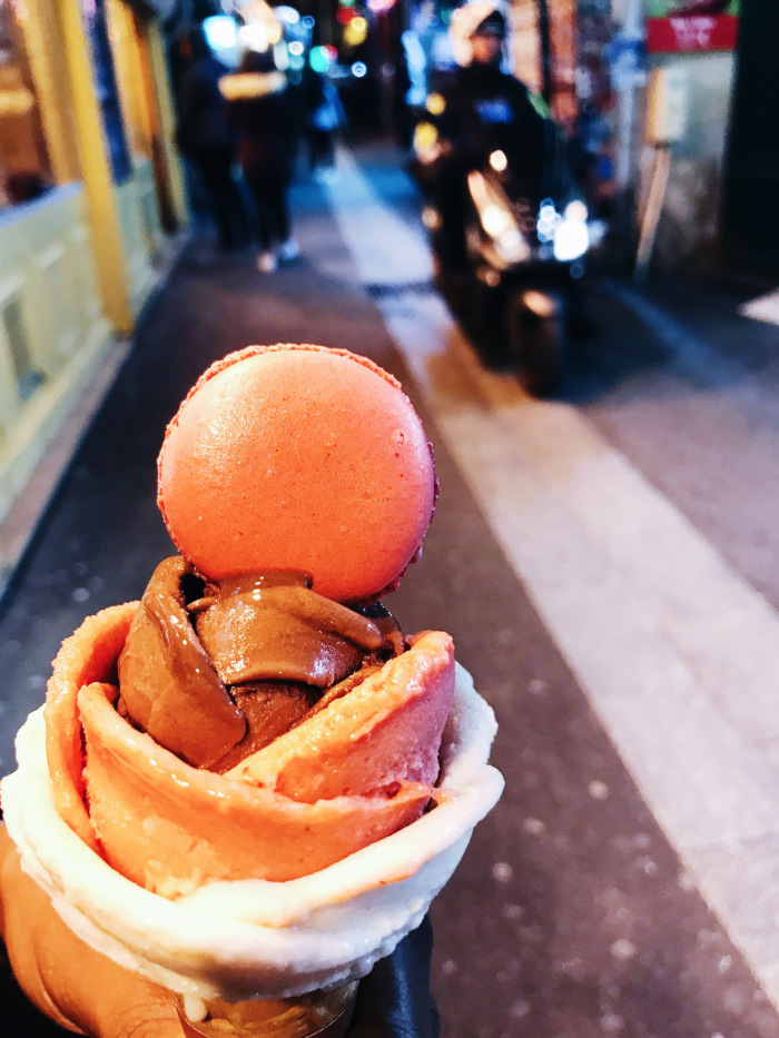 geLATO AND MACAROON CONE FROM aMORINO.jpg