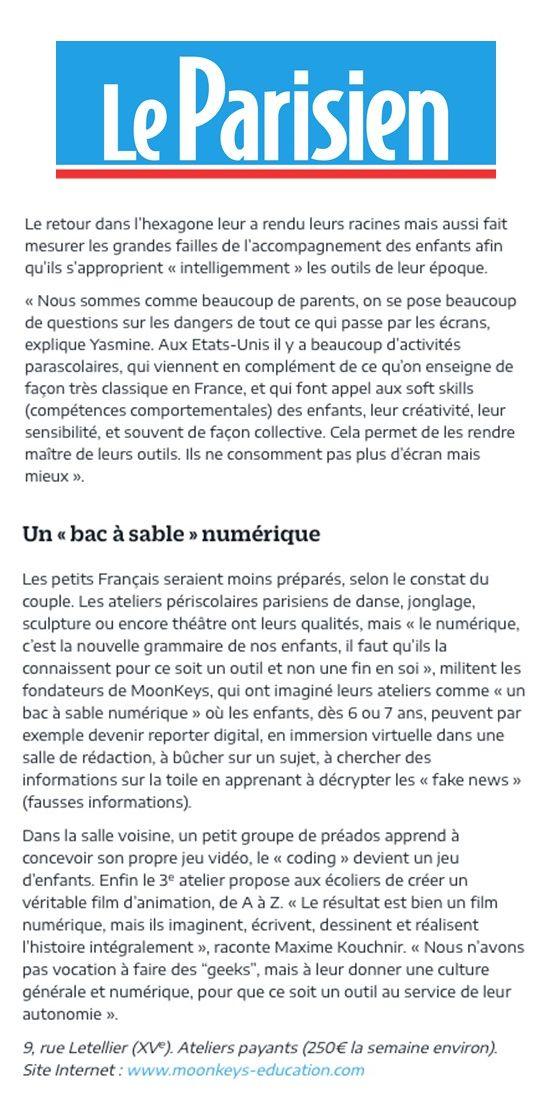 Article parisien 2