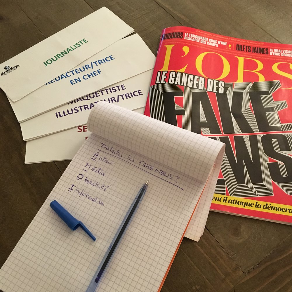 """Les ados vont apprendre très concrètement à identifier et déjouer les """"fake news"""" pendant nos ateliers"""