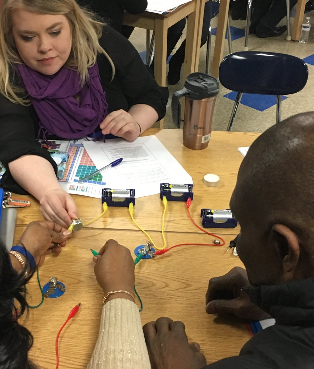 Our Vision - Be a provider of effective, affordable educator training and outreach to make the engineering and applied science fields accessible and possible for all members of the K-12 community.Learn more about why this matters ...